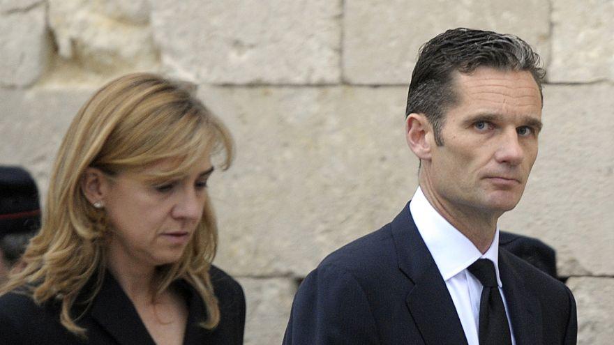 İspanya Prensesi Cristina'nın eşi yolsuzluktan 6 yıl 3 ay hapse mahkum edildi