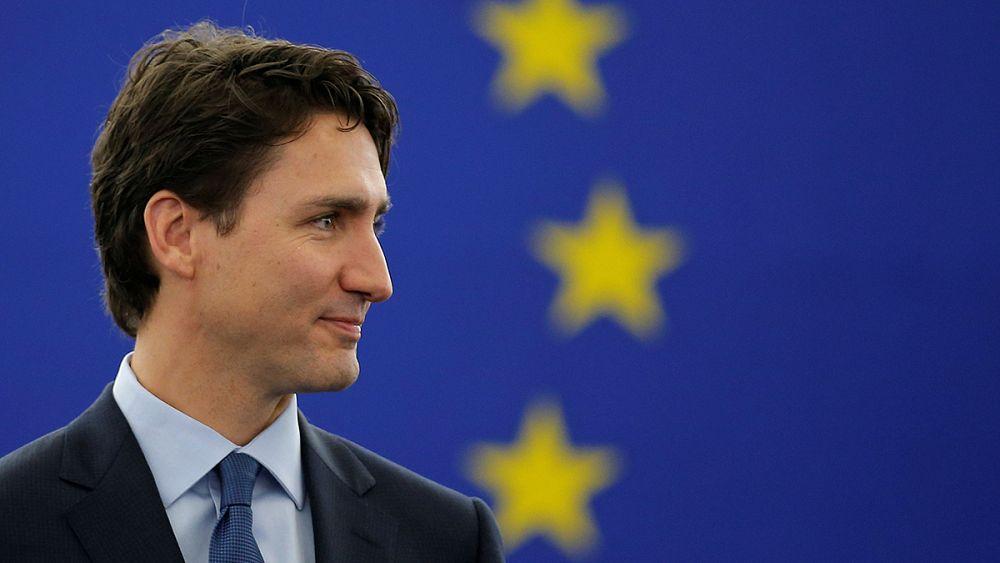 Trudeau Avrupalıların gönlünü fethetti   Euronews