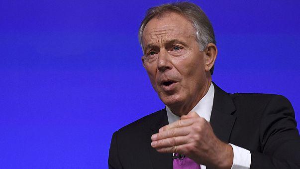 """Tony Blair condena """"Brexit a qualquer preço"""""""