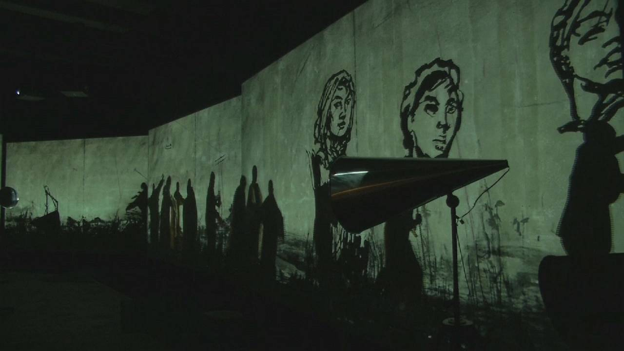 Videoinstalaciones de William Kentridge en el Museo Louisiana de Arte Moderno