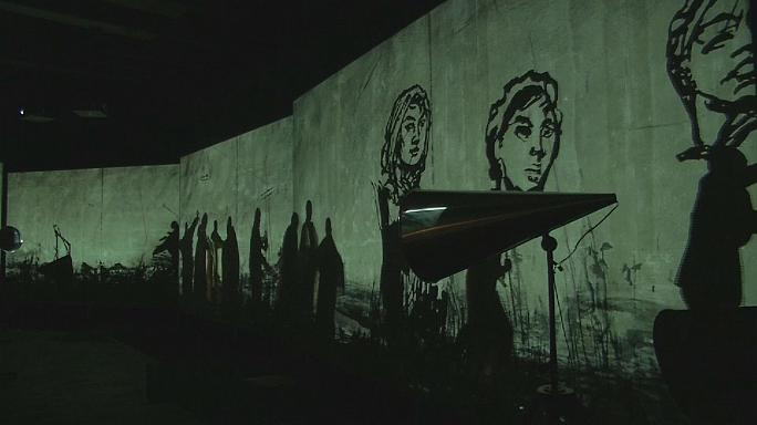 As obras de William Kentridge nos arredores de Copenhaga