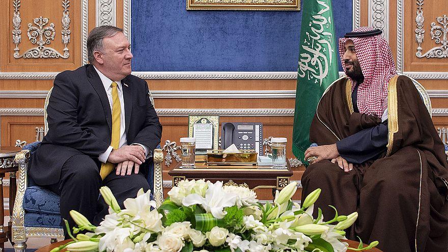 Image: US Secretary of State Mike Pompeo visits Saudi Arabia