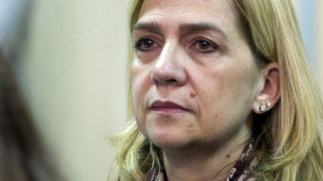Espanha: Justiça absolve Infanta Cristina mas condena marido à prisão por corrupção