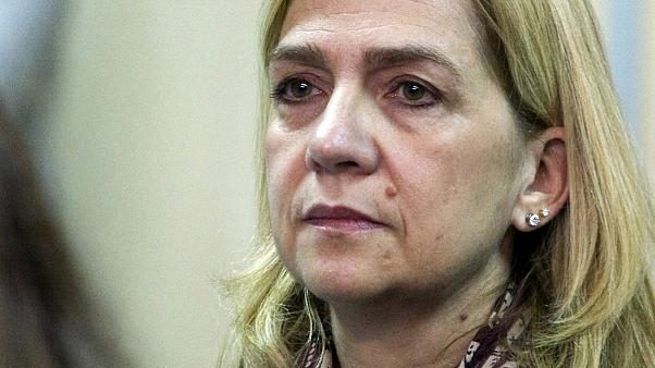 شاهدخت اسپانیا تبرئه و شوهرش به زندان محکوم شد