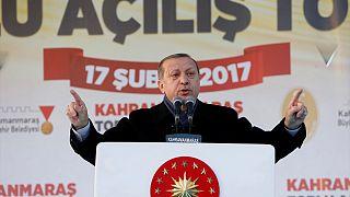 Эрдоган начал агитационную кампанию в поддержку президентского правления
