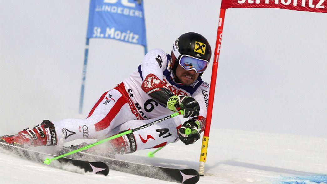 اسکی آلپاین: نخستین قهرمانی اسلالوم بزرگ برای بهترین اسکی باز جهان