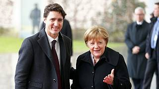 Trudeau and Merkel share common goals in Berlin