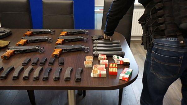 Polonya'da silah kaçakçılığı yapılanması çökertildi
