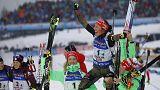 Biatlo: Alemanha continua a ditar leis nos Campeonatos do Mundo de Hochfilzen