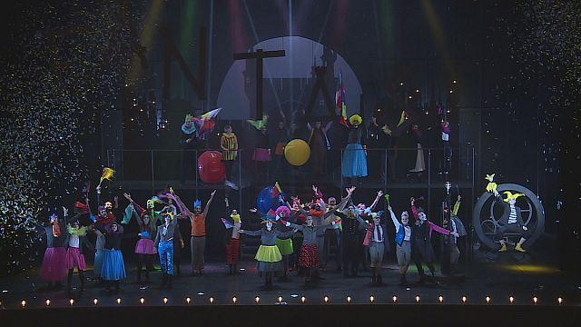 اجرای اپراکمیک «فانتازیو»، اثر اوفنباخ در تئاتر «شاتله» پاریس