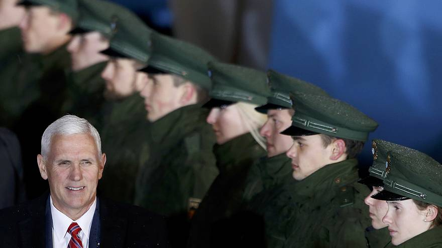 US Vice President Pence seeks to reassure Transatlantic allies