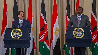 Kenya : première visite officielle d'un chef d'État égyptien en exercice