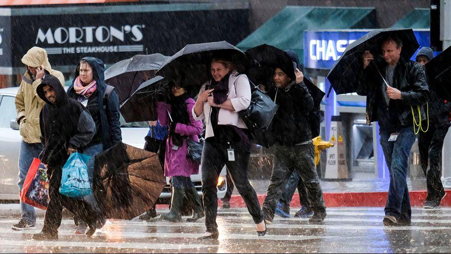California, forte maltempo causa almeno due vittime