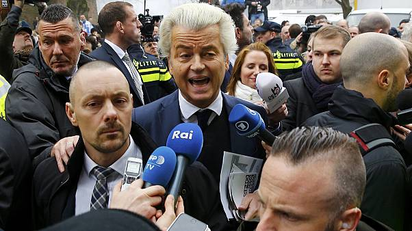"""Wilders tacha de """"escoria"""" a los marroquíes en el primer día de campaña"""