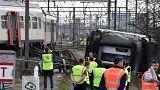 Бельгия: поезд сошел с рельсов, один человек погиб