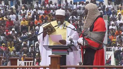 Gambia: Adama Barrow sworn-in