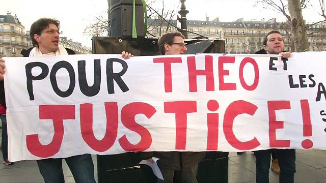 France rallies against police violence after alleged rape of detainee