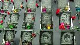 Киев: траурные мероприятия на Майдане Незалежности