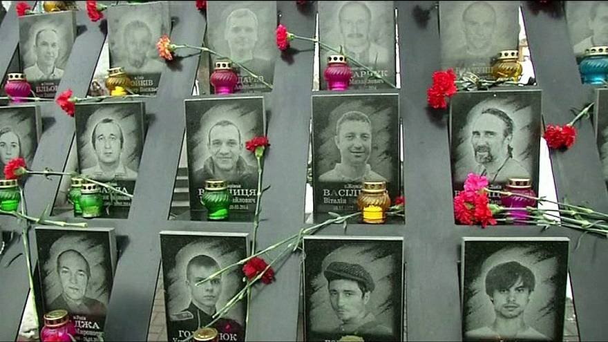 Ukraine reflects on deadly 'Revolution of Dignity'
