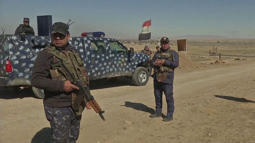 القوات العراقية تبدأ عملية عسكرية غرب الموصل لتحريرها من داعش