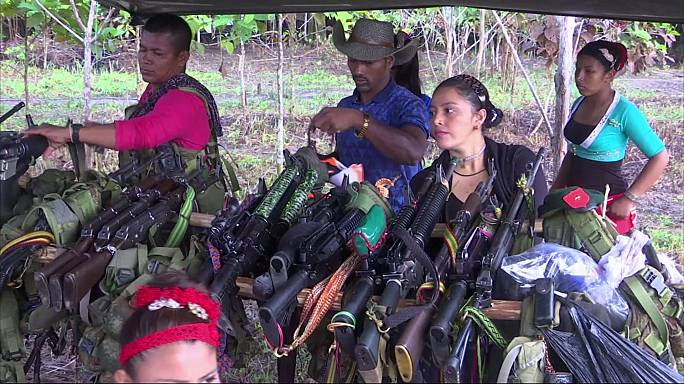 Colombia peace deal: FARC rebels complete final march