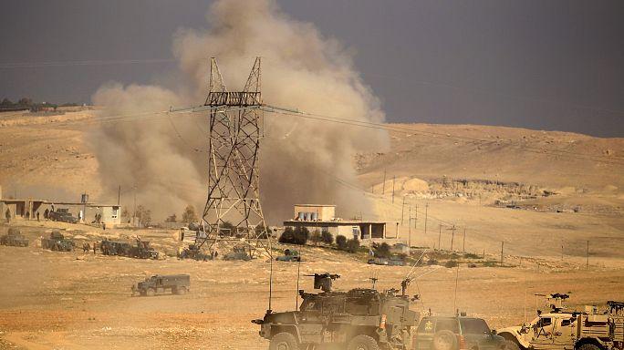 الجيش العراقي يسيطر على 5 قرى مع انطلاق عملية تحرير الشطر الغربي من الموصل