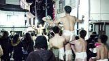 Festival del hombre desnudo en Japón
