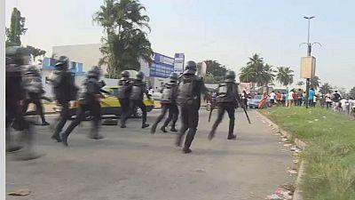 Côte-d'Ivoire : la police disperse une manifestation à Abidjan