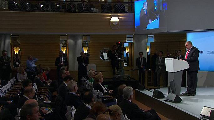 """Münih """"barış"""" konferansı karşılıklı suçlamalarla kapandı"""