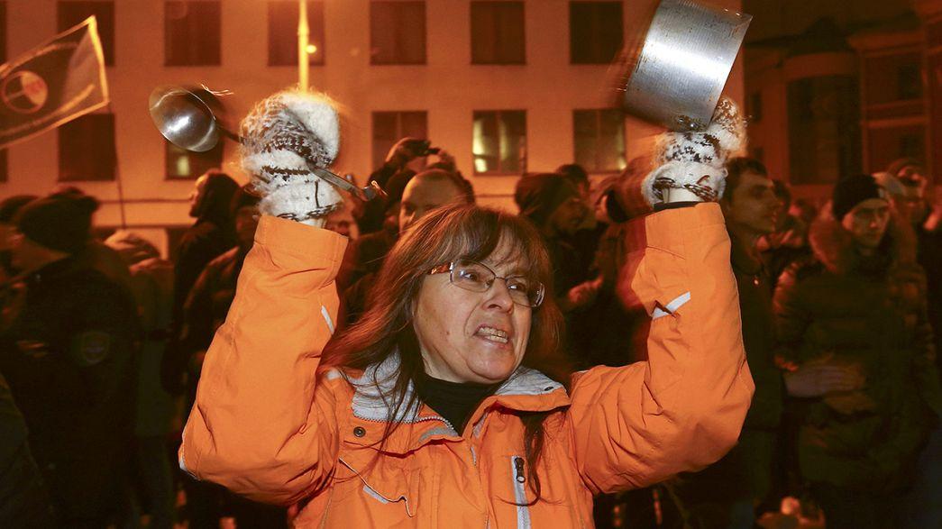 "Bielorrússia: Nova jornada de protestos contra a ""lei anti-parasitas"""