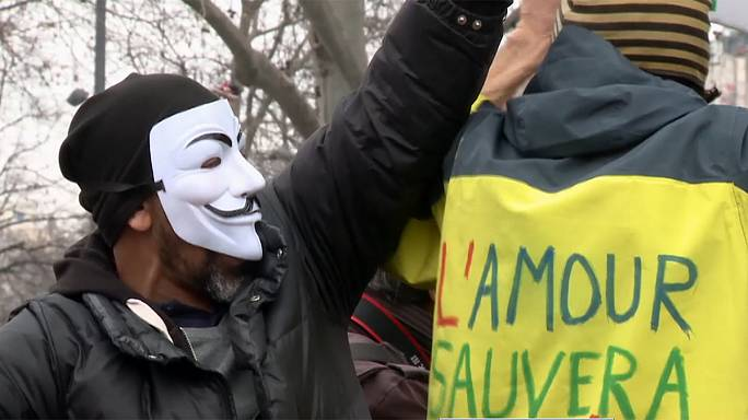 Manifestaciones en Francia contra los candidatos corruptos