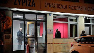 Görögország: Molotov-koktélokat dobtak a kormánypárt székházára