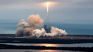 SpaceX launches Falcon 9 from historic NASA pad
