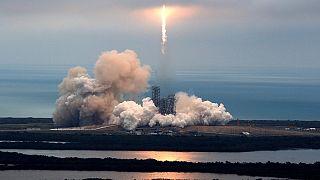 SpaceX triunfa en Cabo Cañaveral