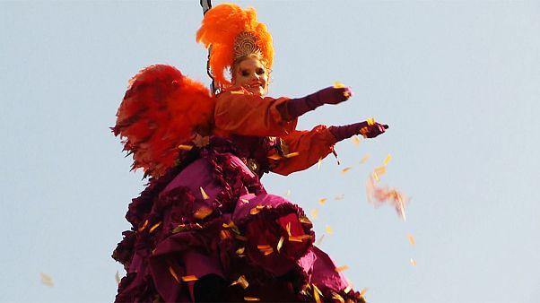 "Veneza: Começou o ""Carnevale"""
