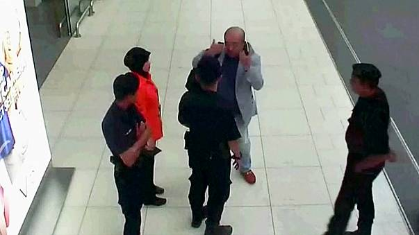 Caught on camera - alleged deadly attack on North Korean leader's half-brother