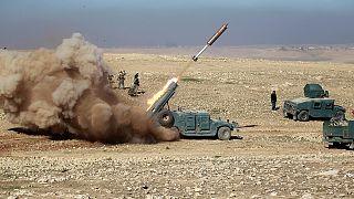 EUA e tropas iraquianas avançam em Mossul