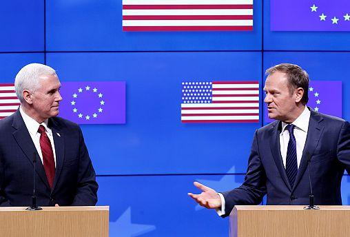 US VP Mike Pence walks back Trump's EU, NATO comments