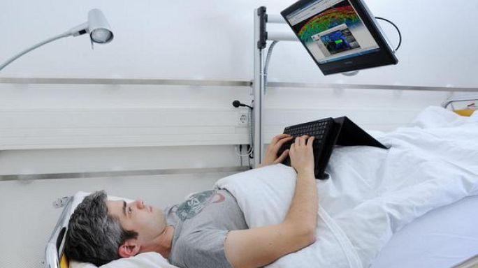 30 Tage bezahlt im Bett für 10.000 €: Bewerberandrang bei DLR- Bettruhe-Studie