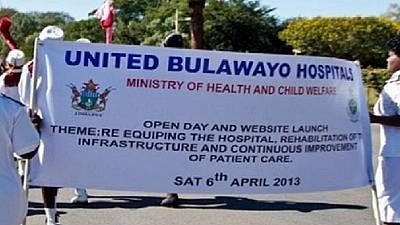 Zimbabwe hospital to attend to 'dire' emergencies only, as doctors strike bites