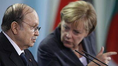 Algeria cancels Merkel's visit due to President Bouteflika's acute illness