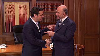 اليونان والجهات المانحة