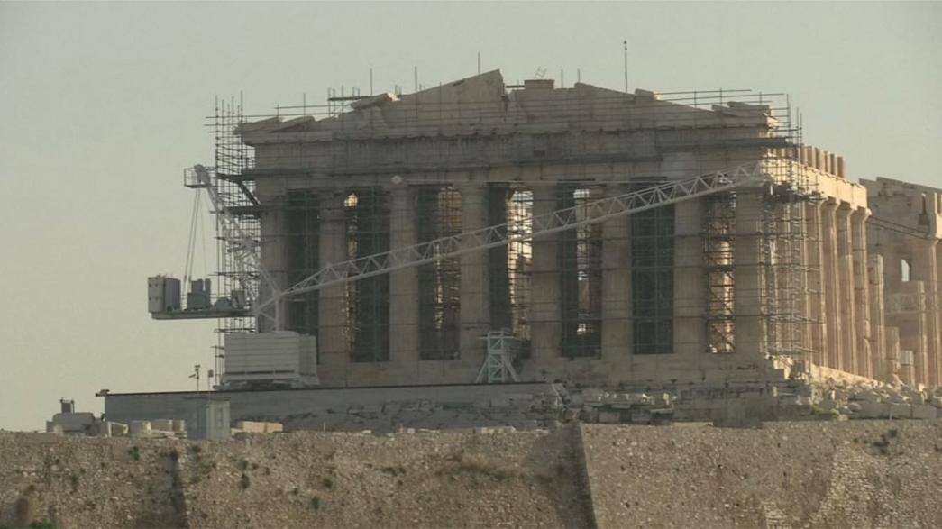 Greve impede turistas nos monumentos de Atenas