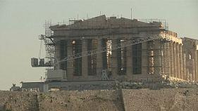 La Acrópolis, cerrada por huelga