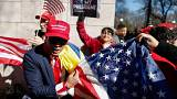 تظاهرات علیه دونالد ترامپ در «روز رئیس جمهور» در آمریکا