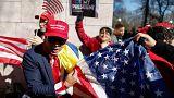 "Anti-Trump militants mark ""Not my President's Day"""