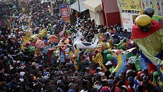 Haiti dá início ao Carnaval.