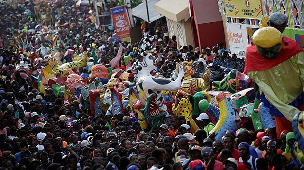 Haiti feiert Karneval