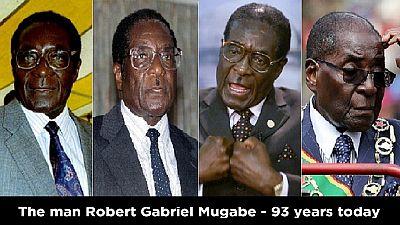 Zimbabwe : Mugabe fête son 93e anniversaire aujourd'hui