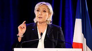 Le Pen se niega a ponerse el velo para reunirse con el muftí del Líbano